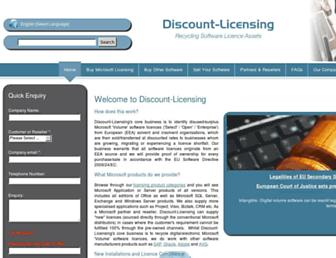 Thumbshot of Discount-licensing.com