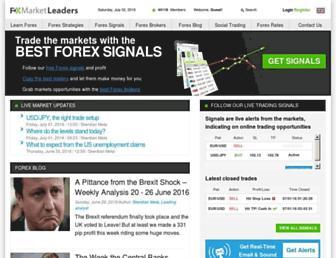Thumbshot of Fxmarketleaders.com