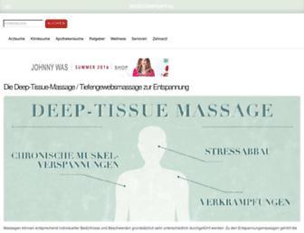 Main page screenshot of med-kolleg.de