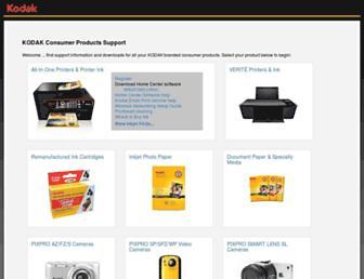 support.en.kodak.com screenshot