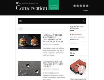 conservationmagazine.org screenshot
