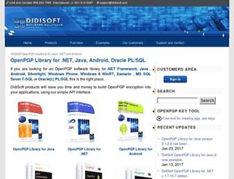 didisoft.com screenshot