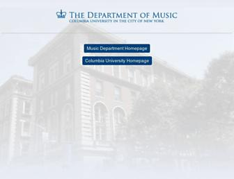sites.music.columbia.edu screenshot