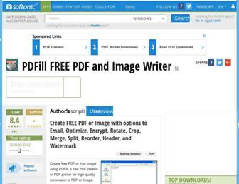 pdfill-free-pdf-and-image-writer.en.softonic.com screenshot