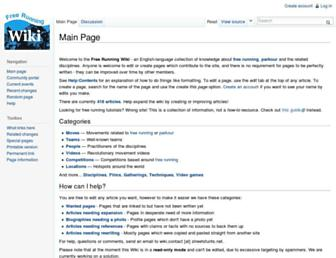 Main page screenshot of streetstunts.net