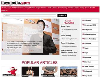 Thumbshot of Iloveindia.com