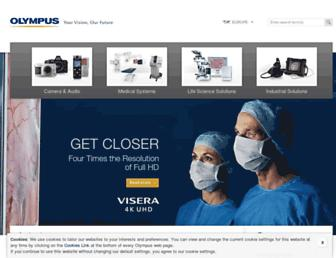 Thumbshot of Olympus-europa.com