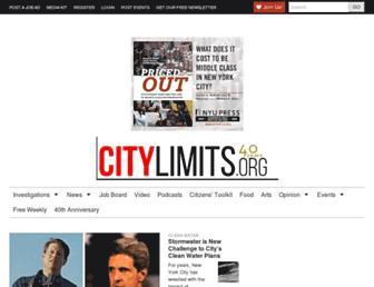 Thumbshot of Citylimits.org