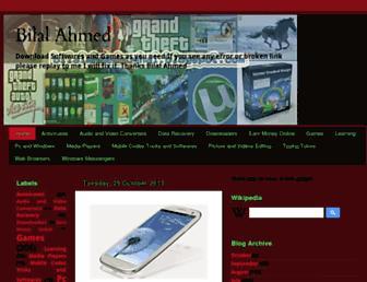 bilalahmedmughal.blogspot.com screenshot
