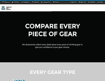 weighmyrack.com screenshot