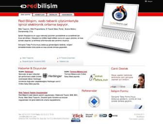 Main page screenshot of redpanel.net