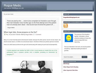 Thumbshot of Roguemedic.com