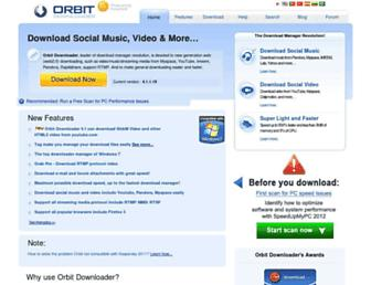 Thumbshot of Orbitdownloader.com