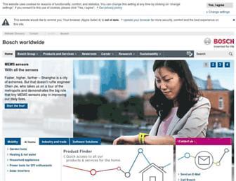 Thumbshot of Bosch.com