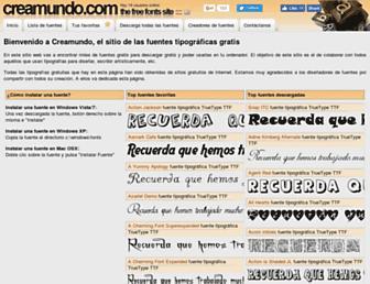 Thumbshot of Creamundo.com