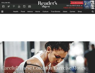 Thumbshot of Readersdigest.com
