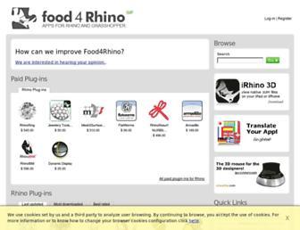 food4rhino.com screenshot