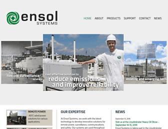 ensolsystems.com screenshot