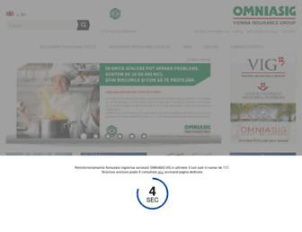 omniasig.ro screenshot