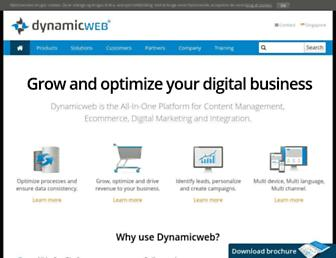dynamicwebapac.com screenshot