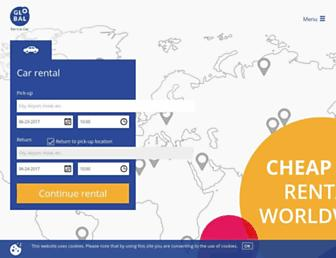 global-rent-a-car.com screenshot