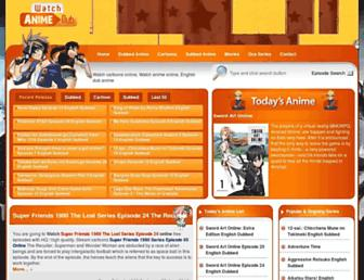 Thumbshot of Watchcartoononline.com