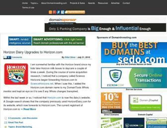domaininvesting.com screenshot