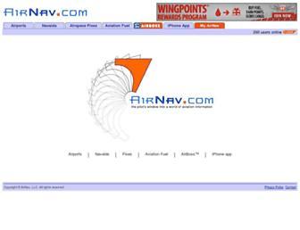 airnav.com screenshot