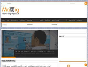 marketing-digital.fr screenshot
