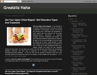 greatziizhaha.blogspot.com screenshot