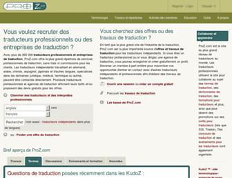 fra.proz.com screenshot