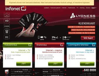 Thumbshot of Infonet.ee