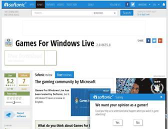 game-for-windows-live.en.softonic.com screenshot
