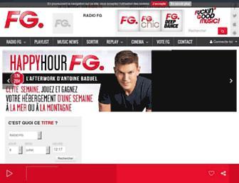 radiofg.com screenshot