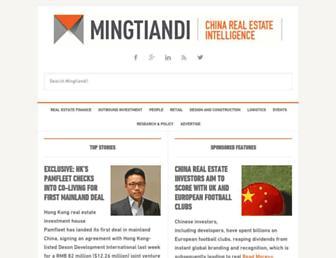 mingtiandi.com screenshot