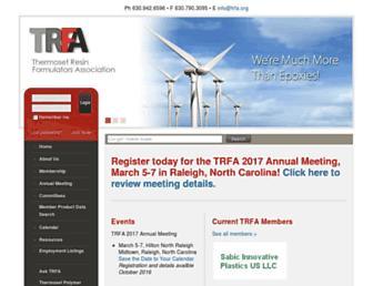 trfa.org screenshot