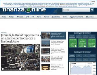 Thumbshot of Finanzaonline.com