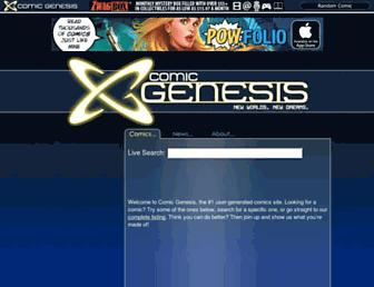 Thumbshot of Comicgenesis.com