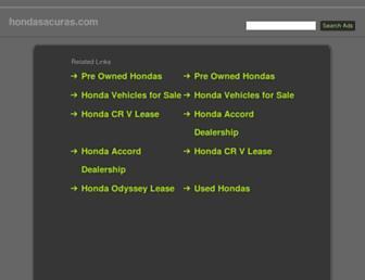 hondasacuras.com screenshot