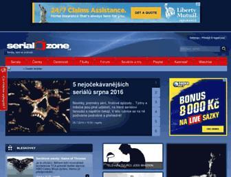 Thumbshot of Serialzone.cz