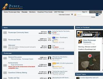 forums.zybez.net screenshot