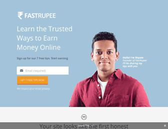 fastrupee.com screenshot