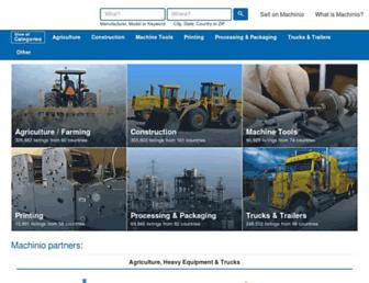 machinio.com screenshot