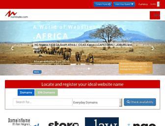 nominate.com screenshot