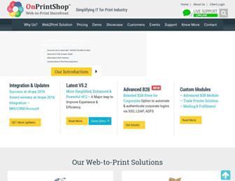 Thumbshot of Onprintshop.com