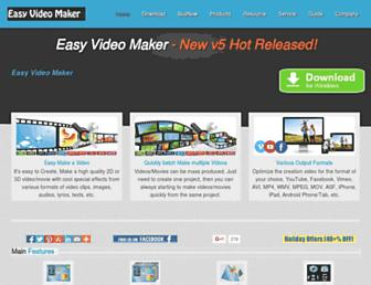 easymakevideo.com screenshot