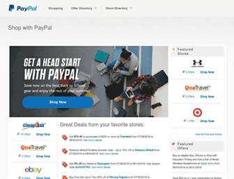 shopping.paypal.com screenshot