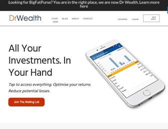 drwealth.com screenshot