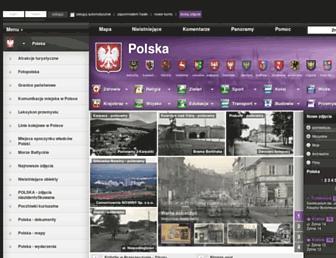 Main page screenshot of fotopolska.eu