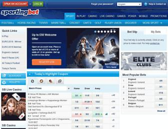 Thumbshot of Sportingbet.com